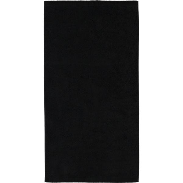 Cawö - Life Style Uni 7007 - Farbe: schwarz - 906 Handtuch 50x100 cm