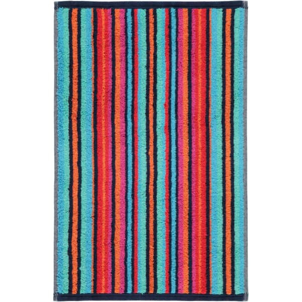 Cawö - Art Streifen 146 - Farbe: multicolor - 12 Gästetuch 30x50 cm