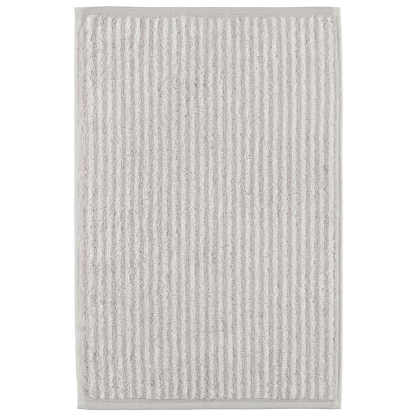 Cawö Zoom Streifen 121 - Farbe: platin - 76 Gästetuch 30x50 cm