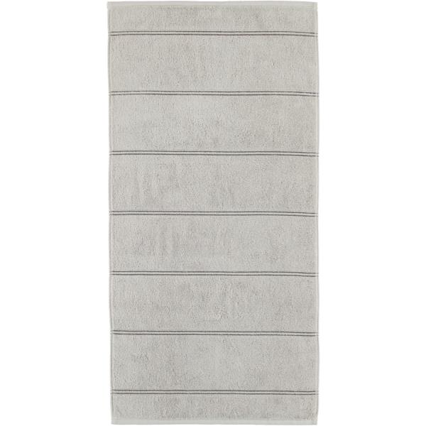 Cawö Carat Allover 581 - Farbe: platin - 705 Handtuch 50x100 cm