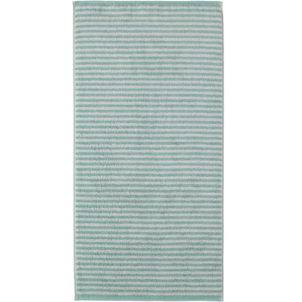 Cawö - Campus Ringel 955 - Farbe: seegrün - 40 Handtuch 50x100 cm