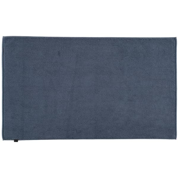 Cawö Home - Badteppich Loop 1007 - Farbe: nachtblau - 111 60x100 cm
