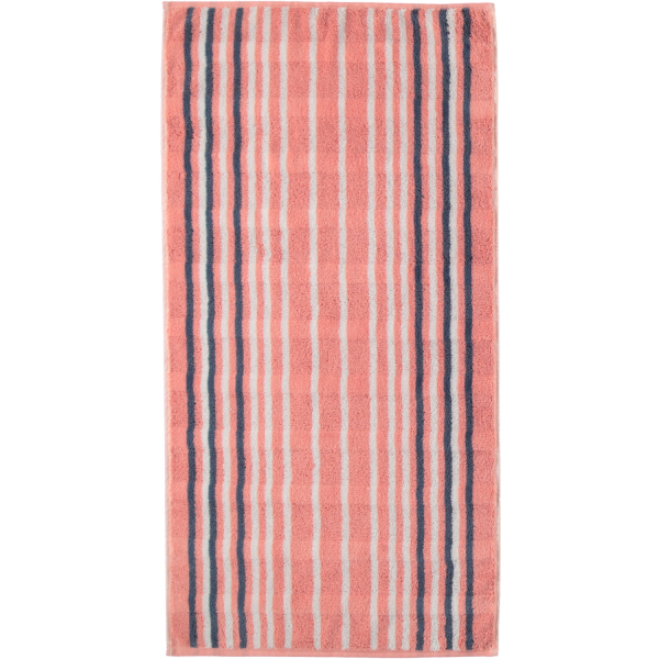 Cawö - Noblesse Lines 1082 - Farbe: rouge - 22 Handtuch 50x100 cm