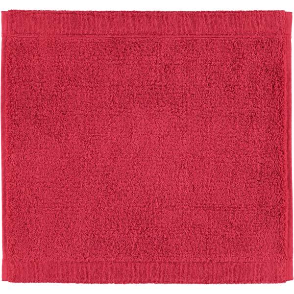 Cawö - Life Style Uni 7007 - Farbe: bordeaux - 280 Seiflappen 30x30 cm