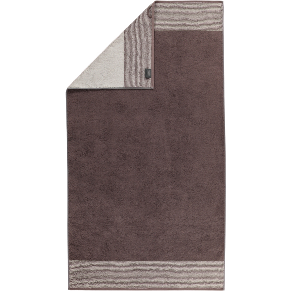 Cawö - Luxury Home Two-Tone 590 - Farbe: pepper - 37 Duschtuch 80x150 cm