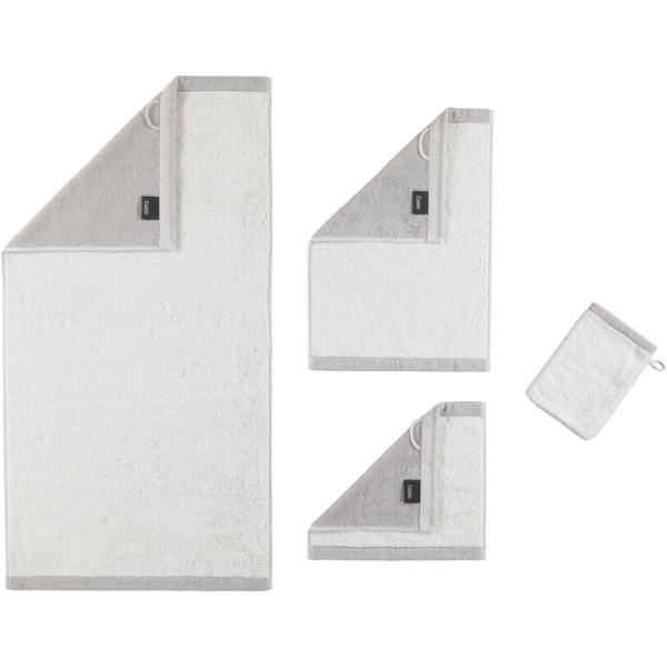 Cawö Plaid Doubleface 7070 - Farbe: weiß - 76