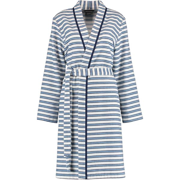 Cawö Damen Bademantel 3341 Kimono - Farbe: sky - 16 S