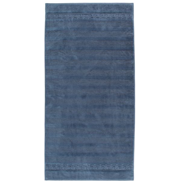 Cawö - Noblesse Uni 1001 - Farbe: nachtblau - 111 Duschtuch 80x160 cm