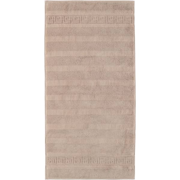 Cawö - Noblesse Uni 1001 - Farbe: 375 - sand Handtuch 60x110 cm