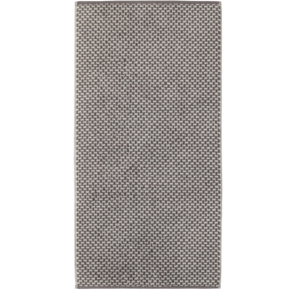 Cawö Reed Allover 956 - Farbe: anthrazit - 77 Handtuch 50x100 cm