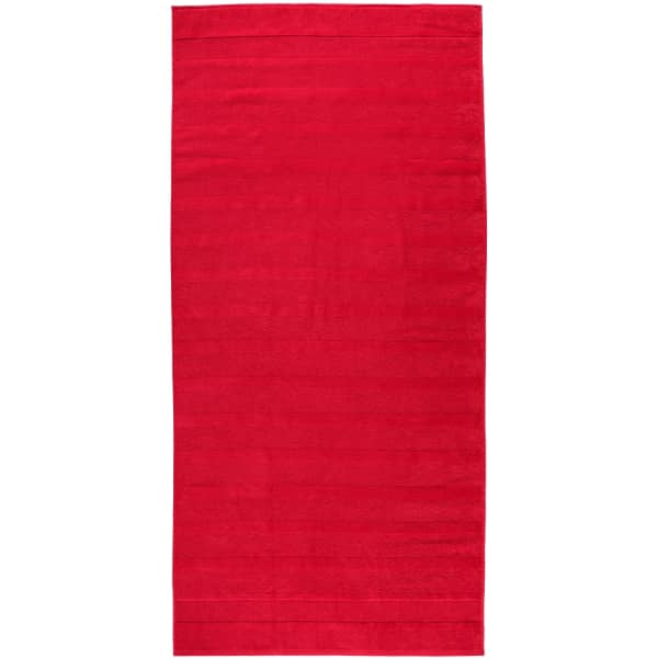 Cawö - Noblesse2 1002 - Farbe: rot - 203 Duschtuch 80x160 cm