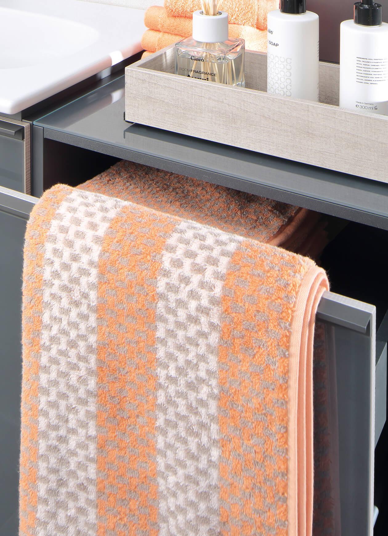 Cawö Reed Allover 956 - Farbe: peach - 37 Detailbild 1