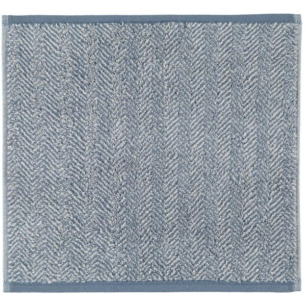 Cawö Cottage Allover 387 - Farbe: nachtblau - 17 Seiflappen 30x30 cm