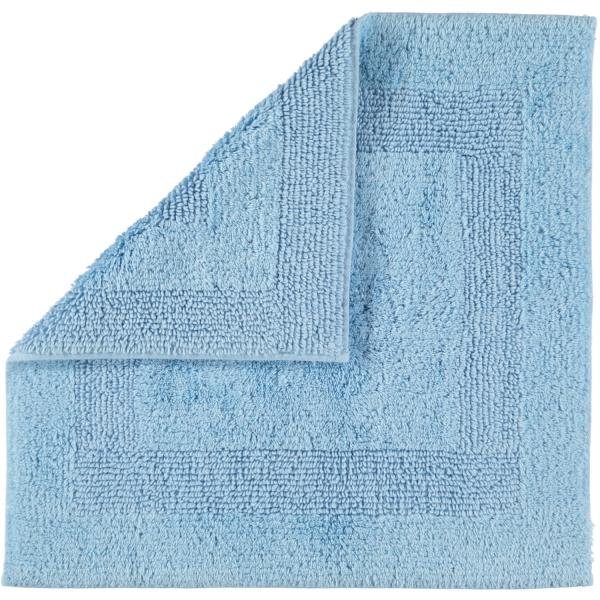 Cawö Home - Badteppich 1000 - Farbe: mittelblau - 188 60x60 cm