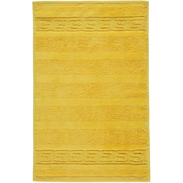 Cawö - Noblesse Uni 1001 - Farbe: 521 - gelb Gästetuch 30x50 cm
