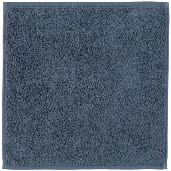 Cawö Heritage 4000 - Farbe: nachtblau - 111 Seiflappen 30x30 cm