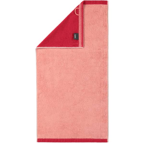 Cawö Plaid Doubleface 7070 - Farbe: rouge - 22 Handtuch 50x100 cm