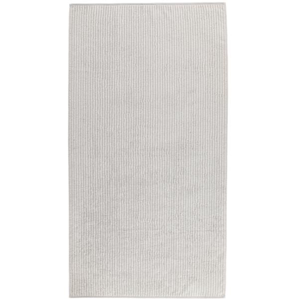 Cawö Zoom Streifen 121 - Farbe: platin - 76 Duschtuch 70x140 cm