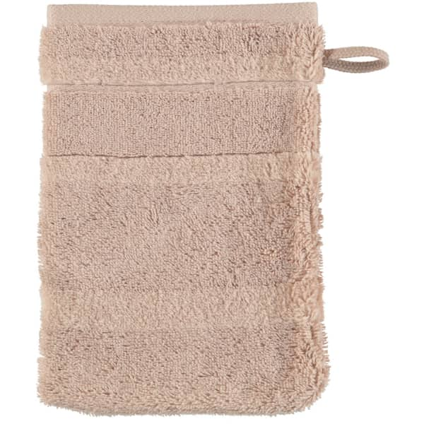 Cawö - Noblesse2 1002 - Farbe: 375 - sand Waschhandschuh 16x22 cm