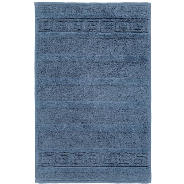 Cawö - Noblesse Uni 1001 - Farbe: nachtblau - 111 Gästetuch 30x50 cm