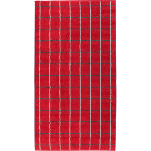 Cawö - Noblesse Square 1079 - Farbe: rot - 27 Duschtuch 80x150 cm
