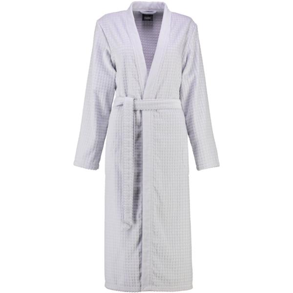 Cawö - Damen Bademantel Kimono 3312 - Farbe: sterling - 721