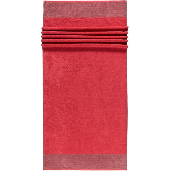Cawö - Luxury Home Two-Tone 590 - Farbe: rot - 27 Saunatuch 80x200 cm