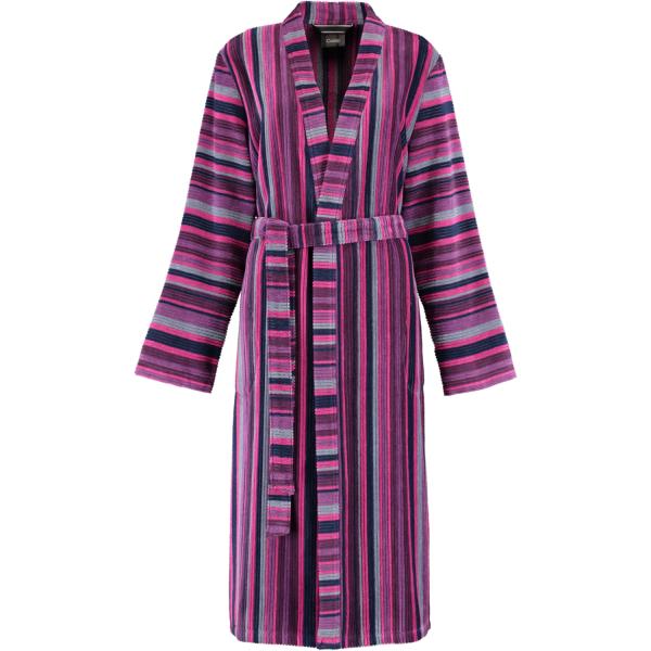 Cawö Damen Bademantel Kimono 2215 - Farbe: beere - 88 XL