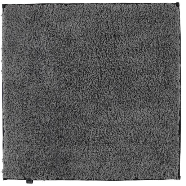 Cawö Home Badteppich Frame 1006 - Farbe: anthrazit - 774 60x60 cm