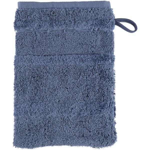Cawö - Noblesse2 1002 - Farbe: nachtblau - 111 Waschhandschuh 16x22 cm