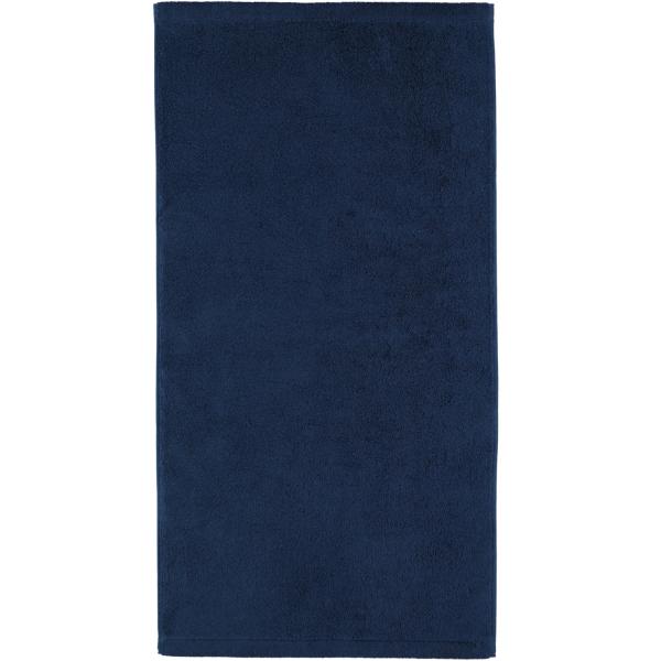 Cawö - Life Style Uni 7007 - Farbe: navy - 133 Handtuch 50x100 cm