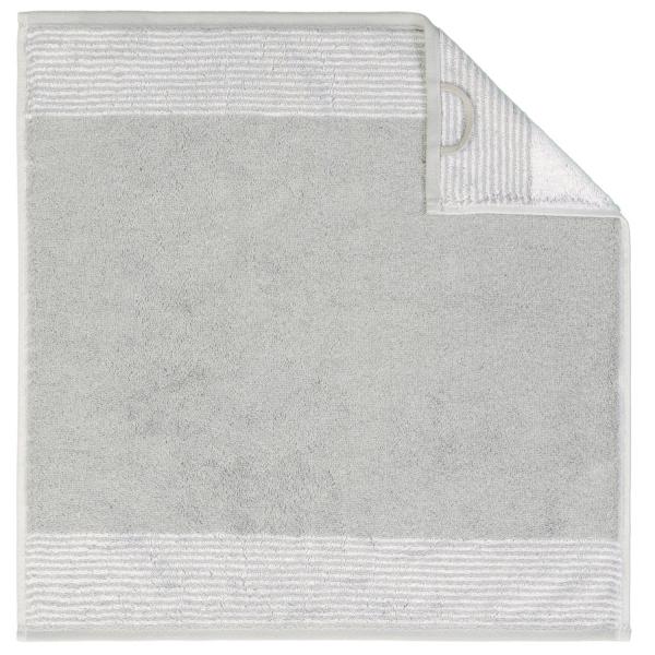 Cawö Two-Tone 590 - Küchenhandtuch 50x50 cm - Farbe: platin - 76