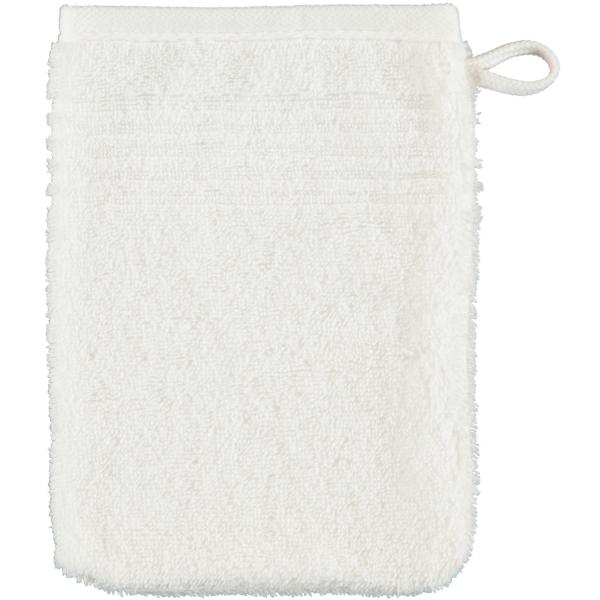 Cawö Essential Uni 9000 - Farbe: weiß - 600 Waschhandschuh 16x22 cm