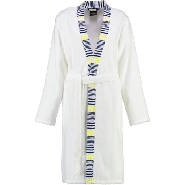 Cawö - Damen Kurzmantel Maritime Kimono 5315 - Farbe: marine-gelb - 615 L