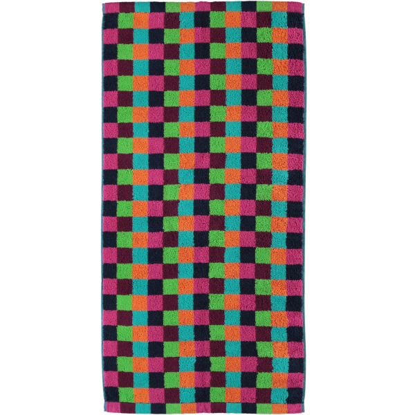 Cawö - Life Style Karo 7047 - Farbe: 84 - multicolor Duschtuch 70x140 cm