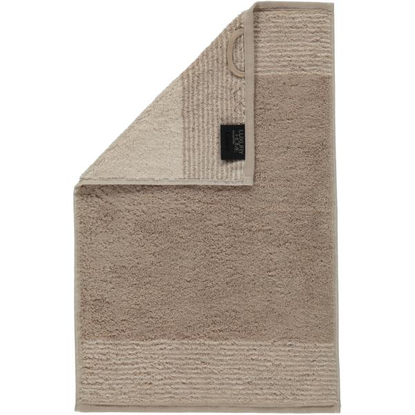 Cawö - Luxury Home Two-Tone 590 - Farbe: sand - 33 Gästetuch 30x50 cm