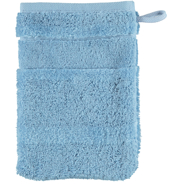 Cawö - Noblesse2 1002 - Farbe: sky - 138 Waschhandschuh 16x22 cm