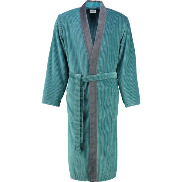 Cawö - Herren Bademantel Kimono 5840 - Farbe: türkis - 47 S
