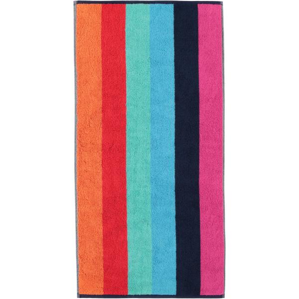 Cawö - Art Blockstreifen 147 - Farbe: multicolor - 12 Handtuch 50x100 cm