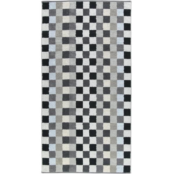 Cawö - Unique Karo 942 - Farbe: anthrazit - 77 Duschtuch 70x140 cm