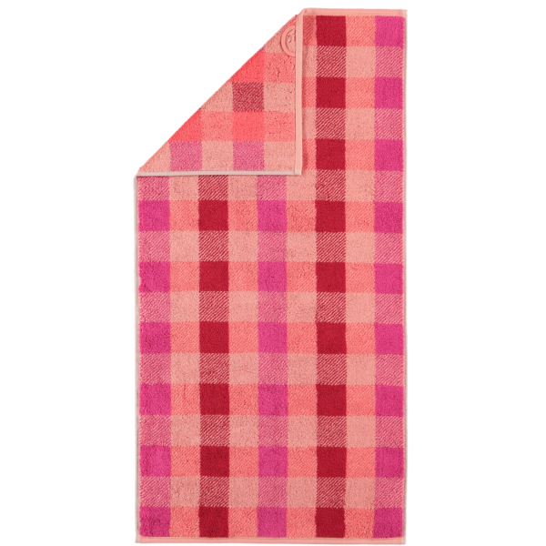 Cawö Check 770 - Farbe: rouge - 22 Handtuch 50x100 cm