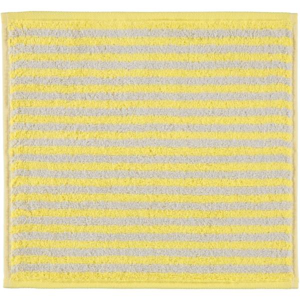 Cawö - Campus Ringel 955 - Farbe: lemon - 57 Seiflappen 30x30 cm
