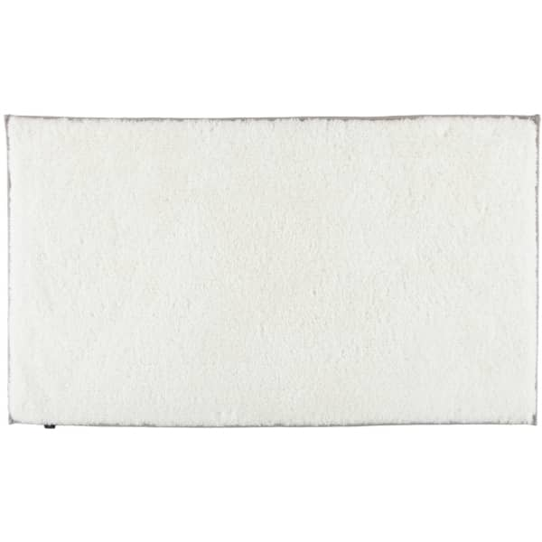 Cawö Home Badteppich Frame 1006 - Farbe: weiß - 600 70x120 cm