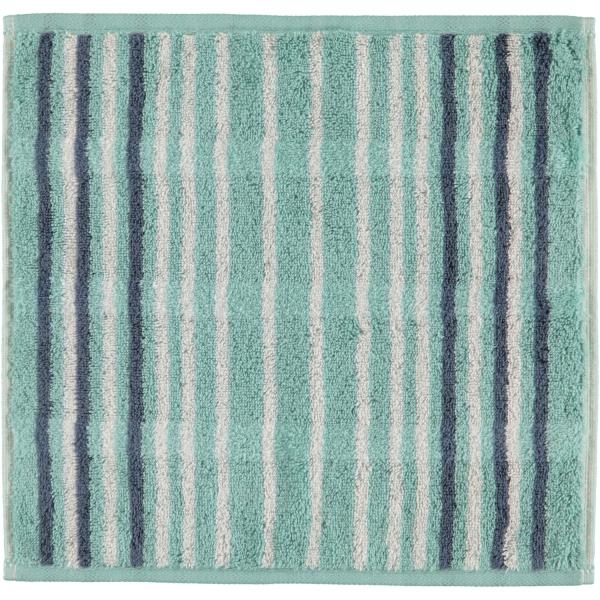 Cawö - Noblesse Lines 1082 - Farbe: seegrün - 44 Seiflappen 30x30 cm