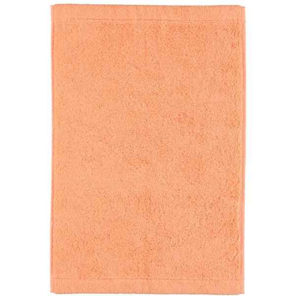 Cawö - Life Style Uni 7007 - Farbe: peach - 321 Gästetuch 30x50 cm