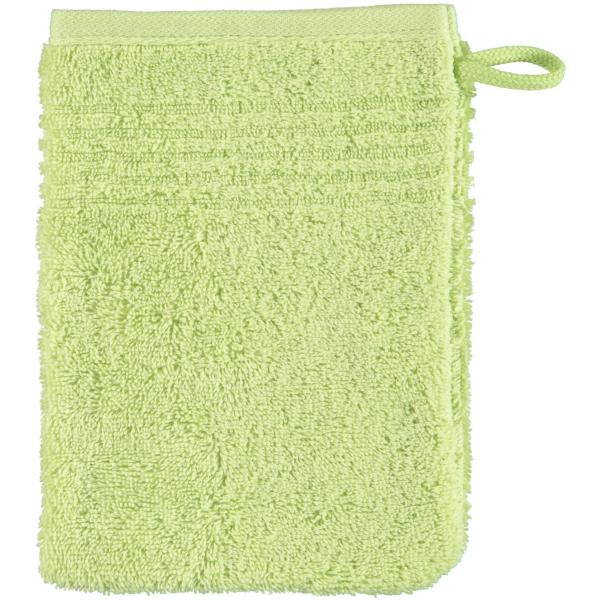Cawö Essential Uni 9000 - Farbe: pistazie - 412 Waschhandschuh 16x22 cm