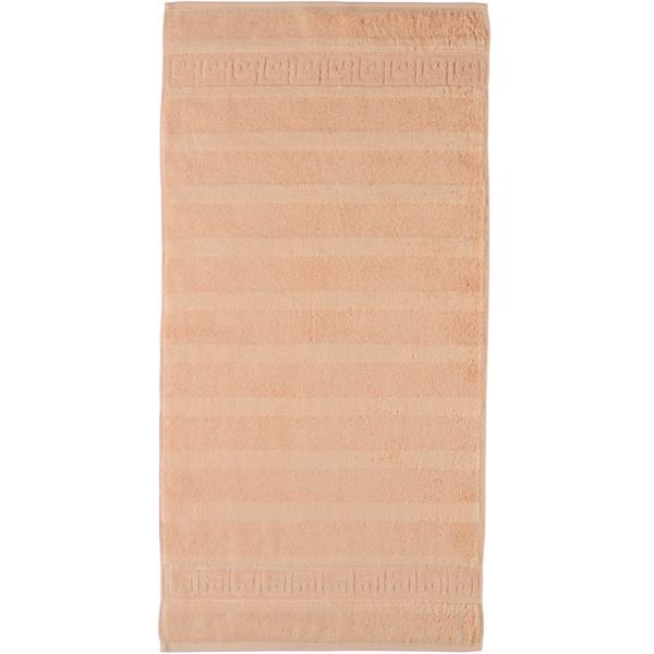 Cawö - Noblesse Uni 1001 - Farbe: 368 - lachs Duschtuch 80x160 cm