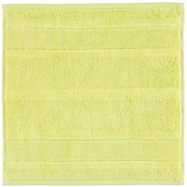 Cawö - Noblesse2 1002 - Farbe: kiwi - 424 Seiflappen 30x30 cm