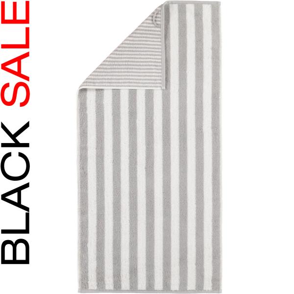 Cawö Black Sale Wendestreifen 186 - Farbe: platin - 76