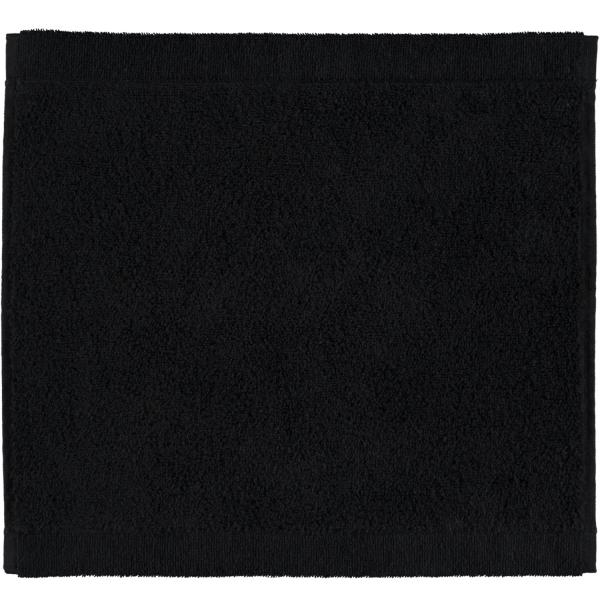 Cawö - Life Style Uni 7007 - Farbe: schwarz - 906 Seiflappen 30x30 cm